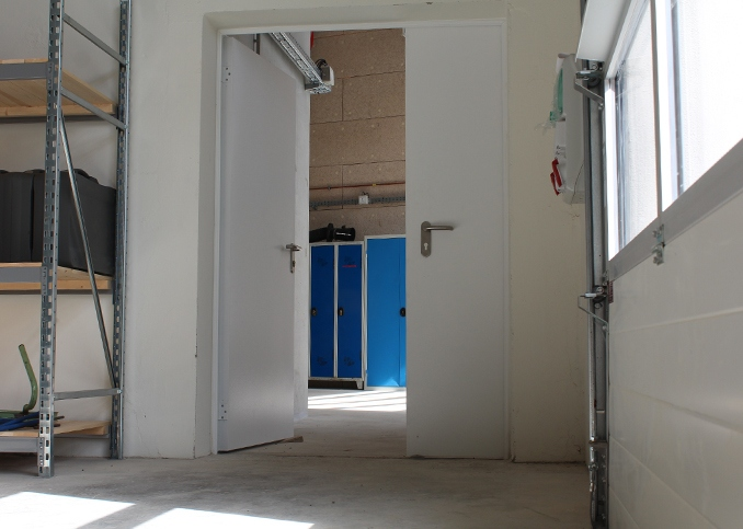 Photo d'une porte oxium