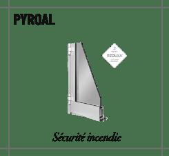 Profilé pyroal, la porte sécurité incendie
